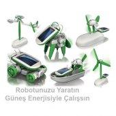 Tyfpoon Güneş Enerjili Robot Oluşturma Seti 6 İn 1 Solar Kit Yeni