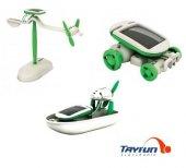 6 Lı Güneş Enerjili Robot Eğitim Kiti(6 İn 1 Educational Kit)
