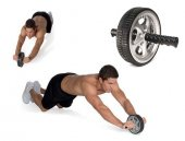 Ab Wheel Vücut Geliştirme Ve Egzersiz Aleti