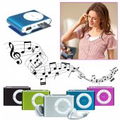Mini Mp3 Player Siyah