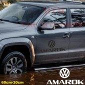 Volksvagen Amarok Yan Kapı Off Road Oto Sticker 1 Adet