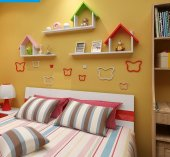 Mini Home 3 Lake Duvar Rafı