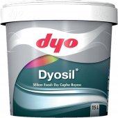 Dyo Dyosil Silikonlu Dış Cephe Boyası 2.5 Lt (Tüm Renkler)