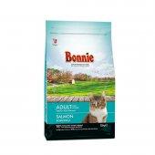 Bonnie Somonlu Yetişkin Kedi Maması 1.5 Kg