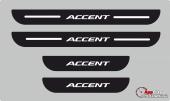 Hyundai Accent Plastik Kapı Eşiği (4lü Set)