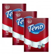 Teno Kağıt Havlu 12 Li 3lü Set