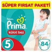 Prima Külot Bebek Bezi 5 Beden Junior Jumbo Paket 42 Adet 2li Set