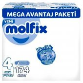 Molfix 4 Beden Maxi 7 14 Kg 174 Adet