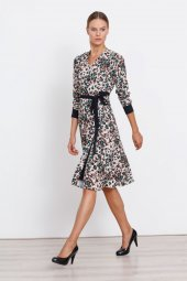 Modailgi Leopar Desen Elbise Orjinal