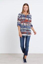Modailgi Batik Desen Bluz Orjinal