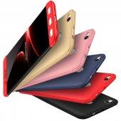 Xiaomi Redmi 4x Kılıf 360 Sert Rubber Tam Koruma Kılıf + Kırılmaz