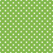 Yeşil Zemin Üzerine Beyaz Puanlı Keçe Plaka (Dk P7...