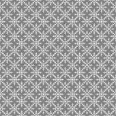 Gri Zemin Üzerine Kartanesi Desenli Keçe Plaka (Dk P76)