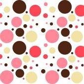Beyaz Zemin Üzerine Bej Kahve Pembe Geometrik Desenli Keçe Plaka (Dk P93)