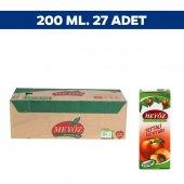 Meyöz Şeftali Meyvesuyu 200 Ml X 27