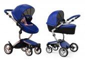 Mima Xari İkili Sistem Portbebeli Bebek Arabası Royal Blue