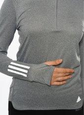 Adidas B47695 Rs Ls Zıp Tee W Kadın Sweatshirts