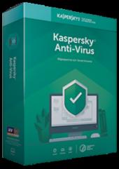 Kaspersky Antıvırus 2018 4 Kullanıcı 1 Yıl