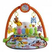 Piyanolu Jimnastik Merkezi Bebek Oyun Halısı 4 İn1 Set