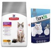 Hills Sensitive Skin Kedi Maması 1,5 Kg+sanicat 5 Lt Kum Hediyeli