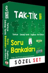 Tonguç 8. Sınıf Tak Tik Li Sözel Soru Bankası Seti