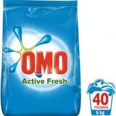 Omo Matik Active Fresh 6 Kg 40 Yıkama Beyazlar İçin Toz Çamaşır Deterjanı
