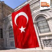 Türk Bayrağı 400x600 Cm Paraşüt Kumaş