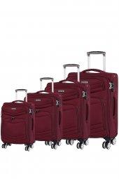ıt Luggage 2078 Kumaş Valiz Seti Bordo