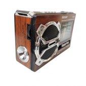 Meier M U05 Usb Sd Mp3 Fenerli Şarjlı Radyo