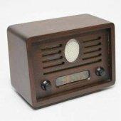Nostalji Görünümlü Radyo Ahşap