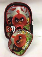 Angry Birds Okul Ve Beslenme Çantası