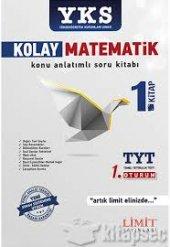Limit Yayınları Tyt Kolay Matematik Konu Anlatımlı Soru Kitabı 1.kitap
