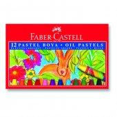 Faber Castell 12' Li Pastel Boya Karton Kapak