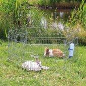 Trixie Tavşan Guinea Pig Galvaniz Oyun Alanı 63� 60cm X 6 Adet