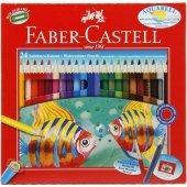 Faber Castell24' Lü Aquarel Kuru Boya