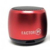 Factor M Mini Bluetooth Hoparlör Kırmızı