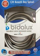 Bidalux Çift Kenetli Duş Spirali 150 Cm