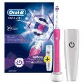 Oral B Pro 750 Cross Action Limited Edition Pembe Diş Fırçası