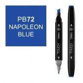 Touch Twın Marker Pb72 Napoleon Blue