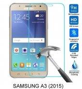 Samsung A3 (2015) Kırılmaz Temperli Cam Ekran Koruyucu