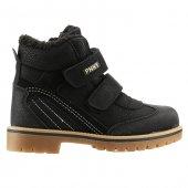 Pinokyo 6011 Siyah Günlük Cırtlı Erkek Çocuk Spor Bot Ayakkabı