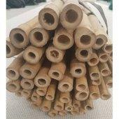 Bambu Cubuk 360 Cm 15 30 Mm 40 Adet Bambu Bitki Destek Çubuğu Dekoratif Bambu Çubuk