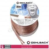 Oehlbach 102 2 X 2,5mm 10mt Oksijensiz Bakır Hoparlör Kablosu