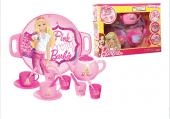 Dede Oyuncak Barbie Tepsili Çay Seti