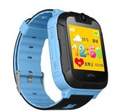 Sentar V80 Td07s Kameralı Akıllı Saat Çocuk Telefonu Sim Kart Girişli Gps Mavi