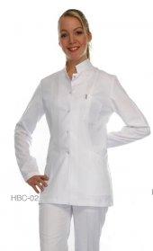 Laborteks Doktor Hemşire Önlüğü Bayan Hbc 02 Ceket Boy Uzun Kol H