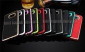 Samsung Galaxy S6 S6edge Kılıf Motomo Lüx Infıny Zırh + Cam