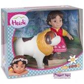 Heidi Ve Joseph Oyuncak Bebek Figür
