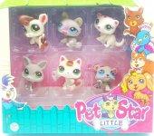 Pet Star Minik Hayvanlar 6 Minik Ailesi Oyuncak Petstar Hayvancı