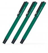 Kişiye Özel Yeşil Metal Tükenmez Kalem (100 Adet) Model 40